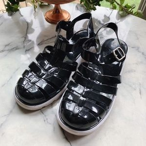 BAMBOO • Jelly Platform Shoes